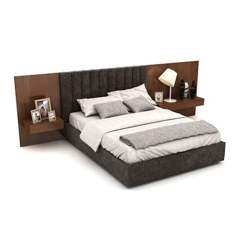 model double bed  headboard cgtrader