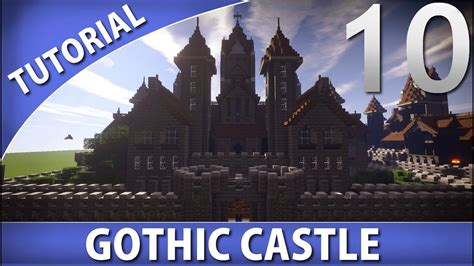 minecraft   build  gothic castle part