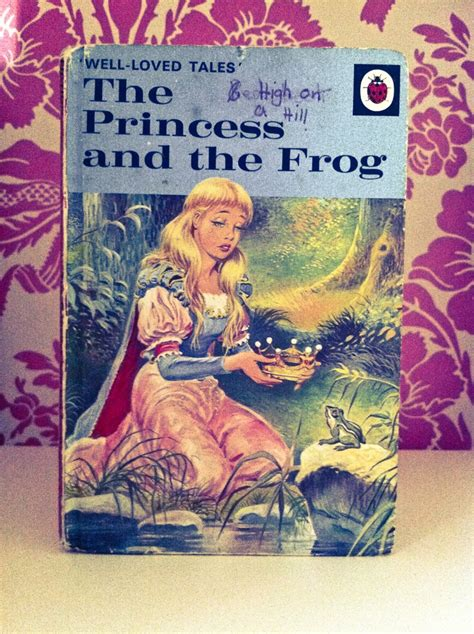 17 Best Images About Ladybird Books On Pinterest Garden The Princess Frog Book
