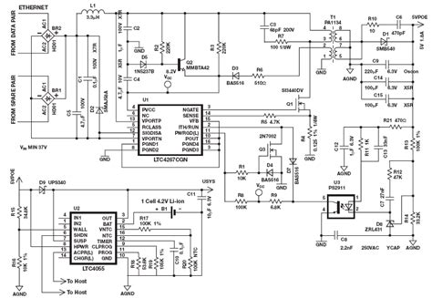 poe circuit diagram pive poe injector wiring diagram poe power injector wiring