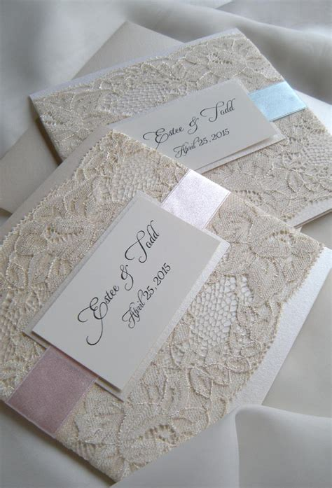 lace wedding invitations 2266132 weddbook