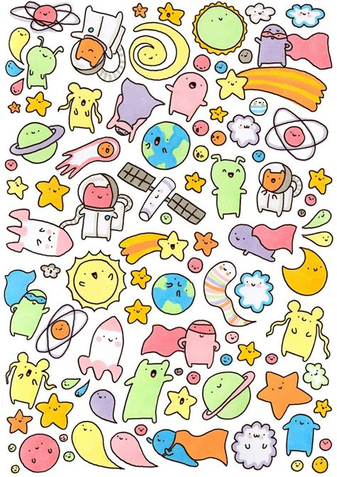 doodle together 25 best ideas about kawaii doodles on kawaii