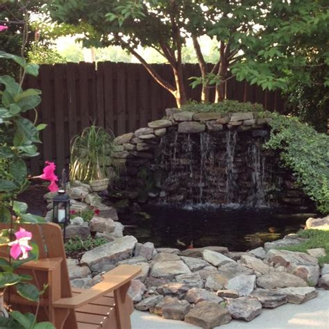 25 best ideas about pond waterfall on diy
