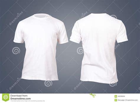 Tshirt Kaos Baju Bonita plantilla blanca de la camiseta foto de archivo imagen