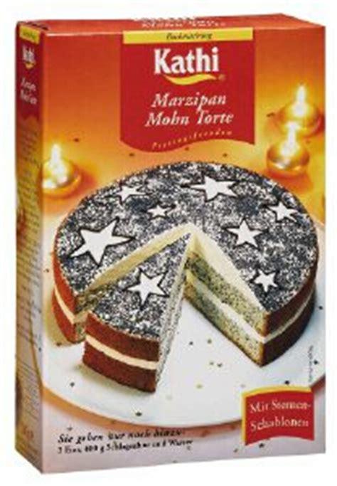 backmischung marzipan mohn torte 380 gramm kathi rainer