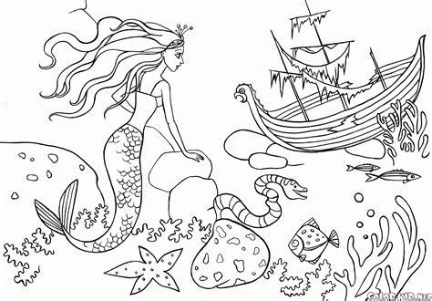 Komik Mermaid Melody 5 by Kolorowanka Syrenka I Statek
