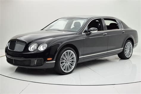 2009 bentley flying spur 2009 bentley continental flying spur speed