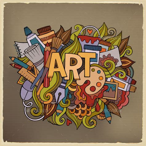design of art and craft 23 imaginative doodle art designs free premium templates