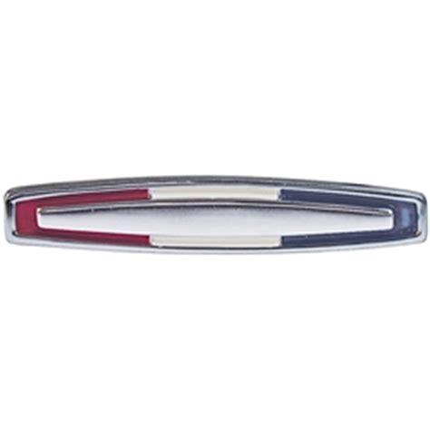 decorative door emblem emblem console door 1964 mercury comet 404 chrome with red