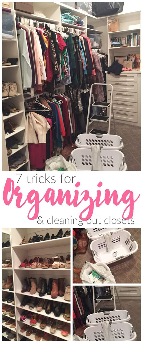 cleaning out your closet 7 tricks for organizing and cleaning out your closet