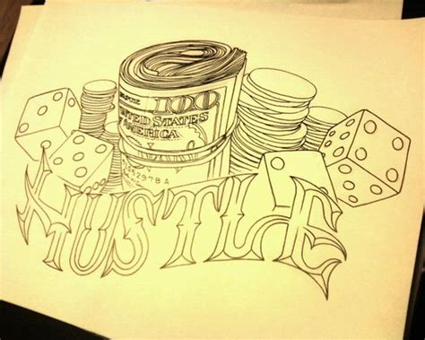 hustle tattoos hustle drawing tattoos apprentice work tattoos and