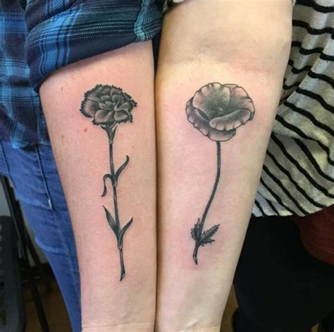 tattoo flower sister sisterly love tattoos onpoint tattoos