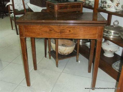 tavolo da gioco antico antichit 224 il tempo ritrovato antiquariato e restauro