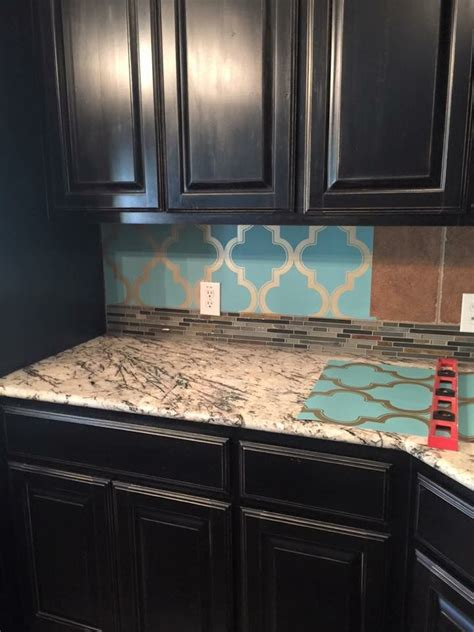 Kitchen Backsplash Wallpaper Ideas Peel And Stick Wallpaper For A Backsplash New House Ideas Cabinets Tile And Places