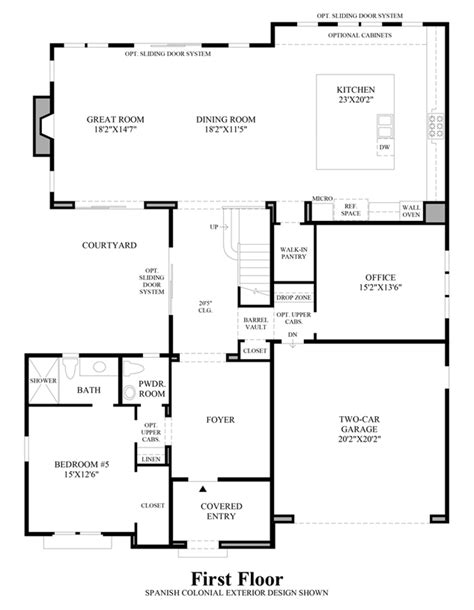 robertson 100 floor plan sanabria toll brothers at robertson ranch