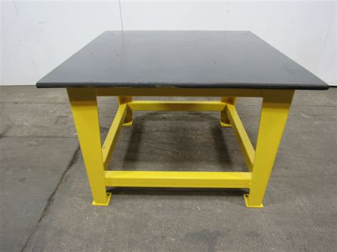 welding bench top steel welding work bench assembly layout table 48 quot x 48 quot 1