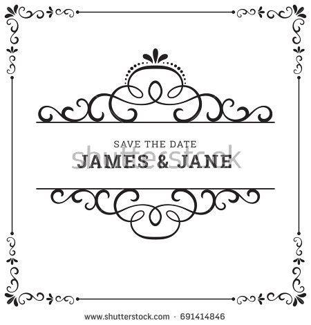 Wedding Clip Minang by Wedding Frame Vector Stock Vector 691414846