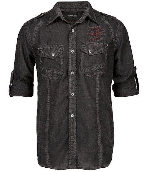 Tshirt Berak Black C M065 affliction black premium point shirt shirt