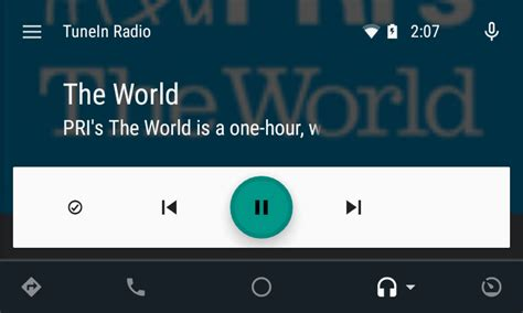 tunein radio android tunein radio on android auto brings the world s sounds to