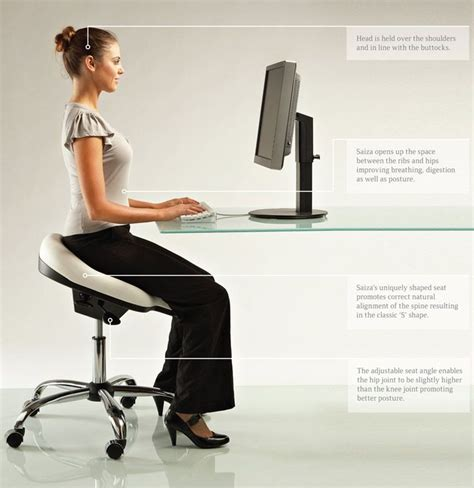Office Desk Posture After The Ergonomically Designed Office Chair Healthy Pinterest Chairs The O Jays