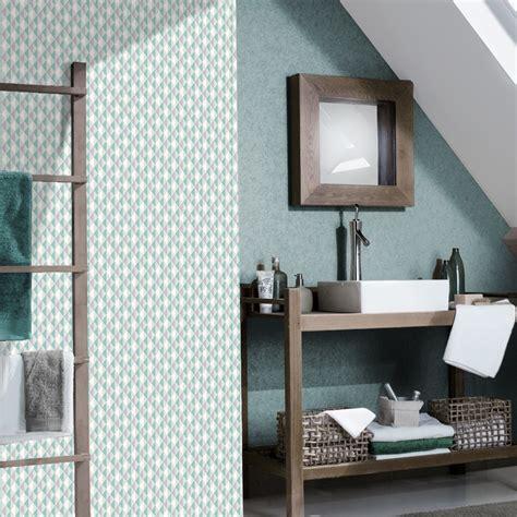 vinyl wallpaper bathroom rasch triangle stripe pattern kitchen bathroom vinyl