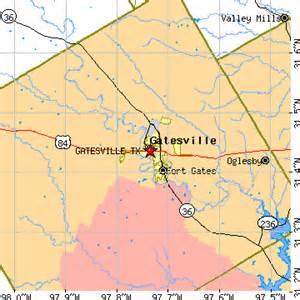 map of gatesville gatesville tx population data races housing