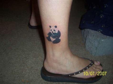 panda elephant tattoo panda tattoo