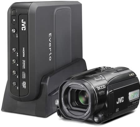 Jvc 2007 High Definition Everio Camcorder by Jvc Hd Everio Gz Hd3 High Definition 60 Gb Disk Drive