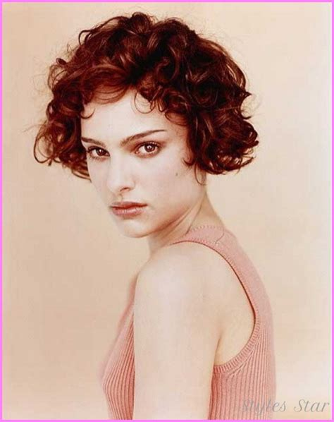 short hair haircuts for curly hair short curly haircuts for stylesstar com
