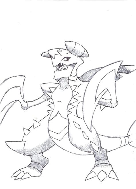 pokemon coloring pages garchomp mega garchomp by deviantbuu427 on deviantart