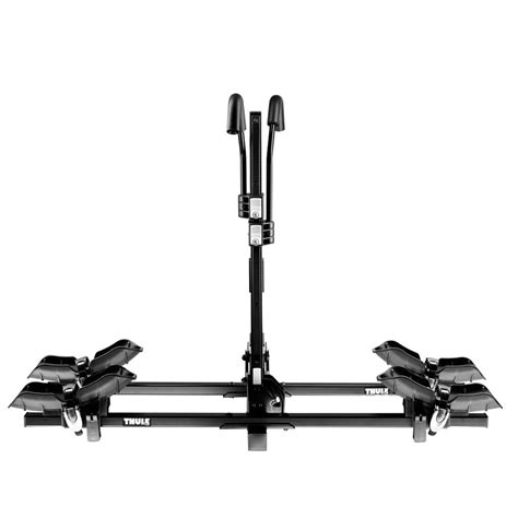 Thule 4 Bike Hitch Rack With Lock by Thule Doubletrack 2 Bike Hitch Carrier With Stl2 Lock