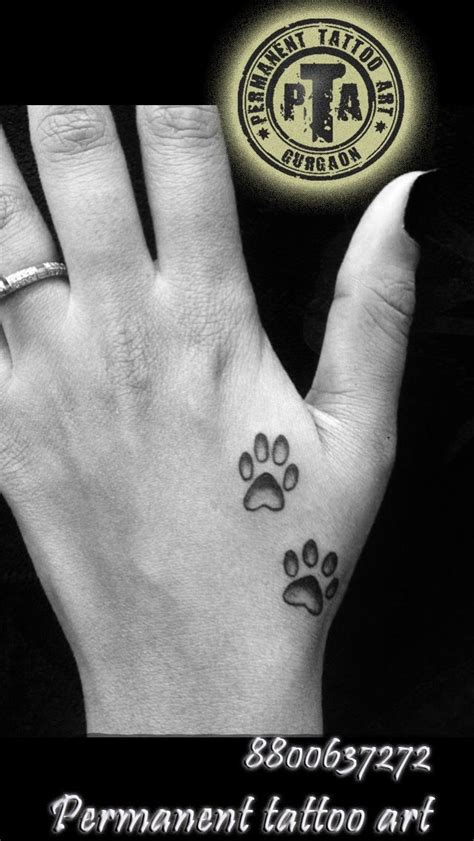small dog tattoo 25 beautiful paw tattoos ideas on tattoos