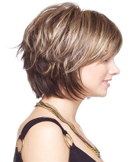 pictures of layered neck length hairstyle neck length bob hairstyles 2018 chunk of style short