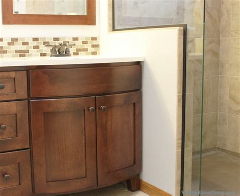 Bow Front Bathroom Vanity by Bettendorf Bathroom Remodel Master Bath Rejuvenated