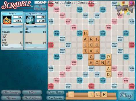 free scrabble with computer scrabble gameplay trailer free