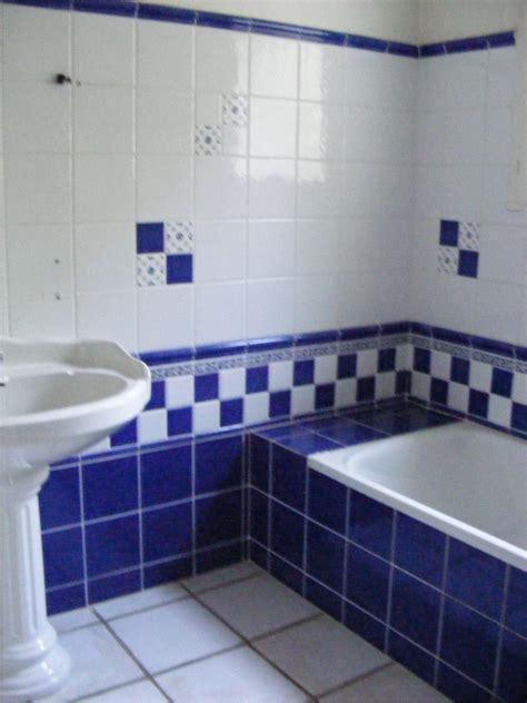 Salle De Bain Blanche Et Bleu 5191 by Salle De Bain Bleue