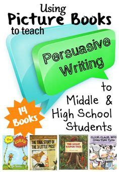 picture books to teach writing exles of persuasive writing on teaching