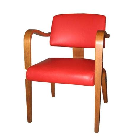 Pleather Chair by 4 Thonet Arm Chairs In Pleather For Sale At 1stdibs