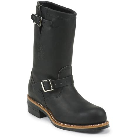 """Men's Chippewa® 11"""" Engineer Boots   160141, Motorcycle"""