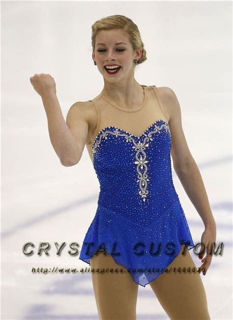aliexpress competitor aliexpress com buy blue figure skating dress elegant new