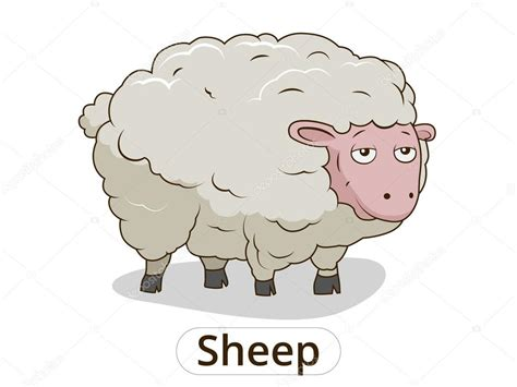 imagenes animadas de ovejas ilustraci 243 n de animales de dibujos animados de ovejas para