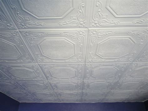 cover popcorn ceiling with tiles 116 best images about painted on