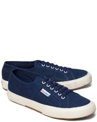 navy canvas low top sneakers superga canvas sneakers