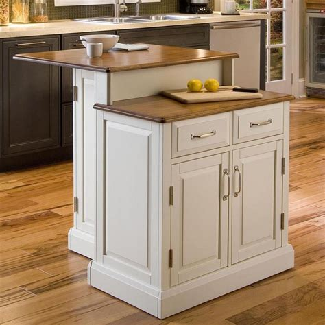 woodbridge 2 tier kitchen island contemporary kitchen islands and kitchen carts by kohl s