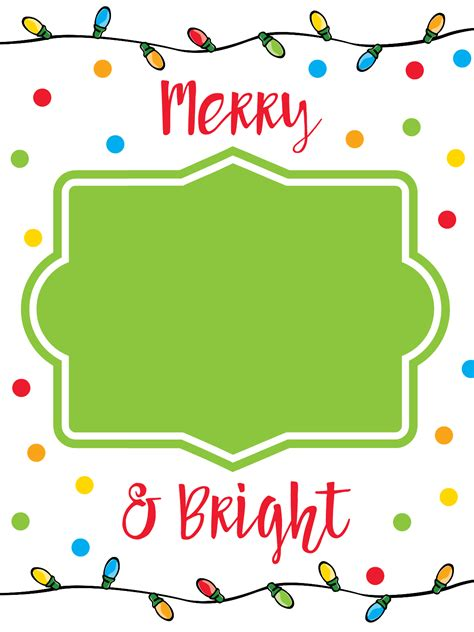 Christmas Gift Cards To Print - printable christmas gift card holders fun squared