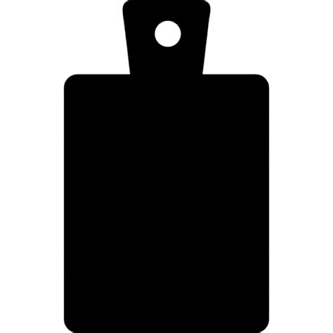 Red Wooden Kitchen - cutting board black rectangular silhouette of the tool icons free download