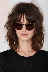 bangs hairstyle 4 bangs hairstyles to bang or not to bang fashion tag blog