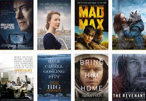 best film in oscar award oscar nominations 2016 the complete list 88th academy