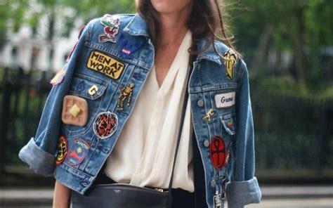 Jaket Denim Di Pasaran ubah style jaket denim yang kucel menjadi artsy dengan