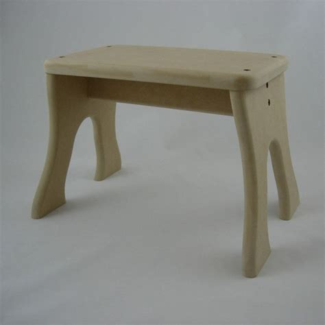 Unfinished Wooden Stools by Unfinished Wood Stool Unpainted Children Tip